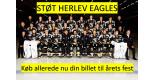 Herlev Eagles støttefest / støttebevis