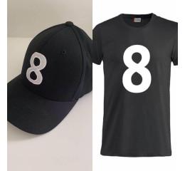 Kasket #8 & T-shirt#8